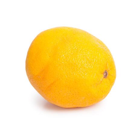 spoilage: Rotten orange fruit isolated on white background Stock Photo