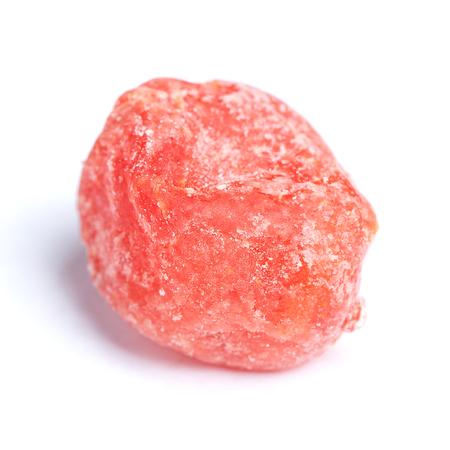 Dried kumquat isolated on white background Stock Photo