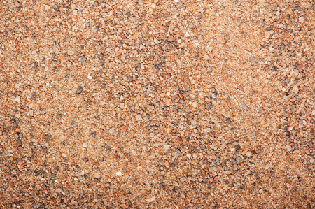 Close up of top view sand texture