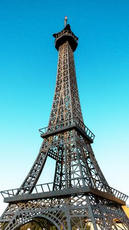 Tower against the blue sky Фото со стока