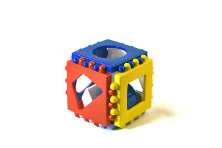 children's toy on a white background Фото со стока