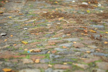 degradation: stone blocks Stock Photo