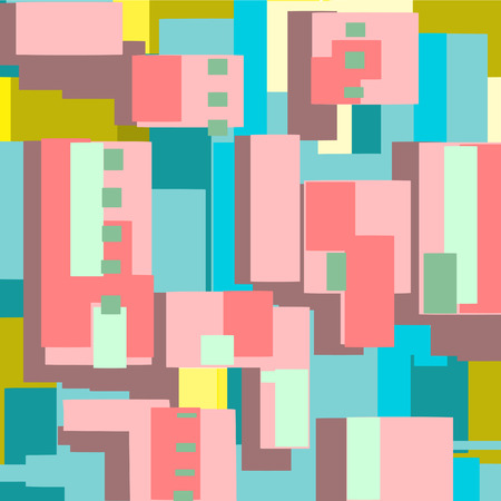 absract art: Flat texture painted flat brush. Perhaps pattern.