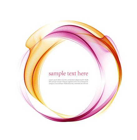 graficas: de color suaves ondas abstractas transparente.