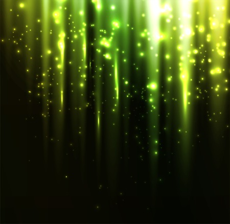 illustration Abstract colorful background. Green light Illustration