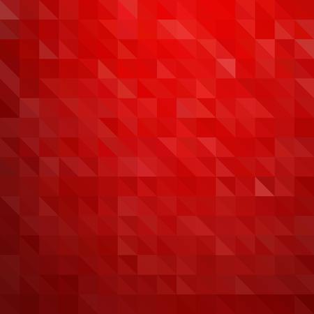 abstract: Fundo colorido abstrato. Padrão de triângulos vermelho Ilustração