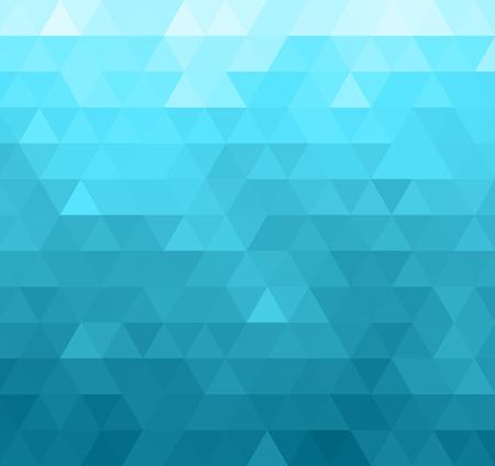 Résumé géométrique fond de modèle. motif de triangles bleu Banque d'images - 47827159