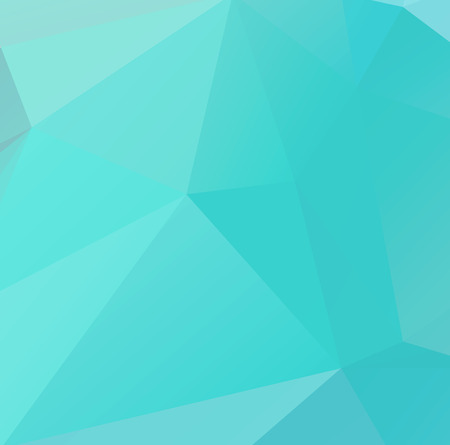 and turquoise: Abstract geometric triangular background.