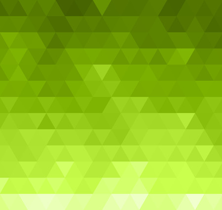 abstrakt gr�n: Abstract Green Triangle Background