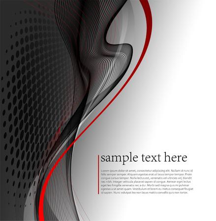 abstraktní: ilustrace Abstraktní vlna pozadí.