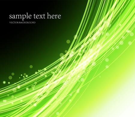 Illustration Abstrait coloré. Lignes transparentes vertes Banque d'images - 47833562