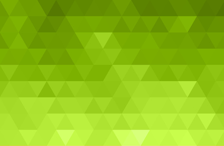 Vector Abstract green color mosaic background for design brochure, website, flyer Vectores