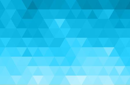 Vector Abstract bluecolor mosaic background for design brochure, website, flyer