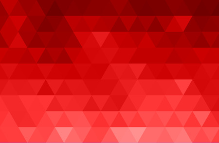 Vector Abstract red color mosaic background for design brochure, website, flyer