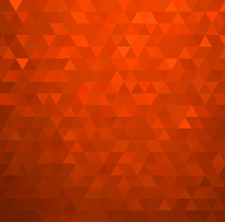 Vector Abstract orange mosaïque de fond pour la brochure de conception, site web, dépliant Banque d'images - 54508833