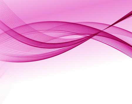 Résumé de fond vague vecteur, rose agita lignes pour la brochure de conception, site web, dépliant Banque d'images - 54508834