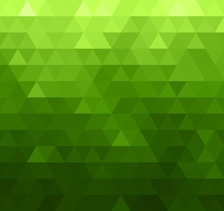 Abstract design template vecteur avec fond coloré géométrique triangulaire pour brochure, sites web, dépliant, flyer. Le triangle vert Banque d'images - 55482737