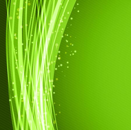 Abstract vector background, vert agita lignes pour brochure, site web, conception flyer. illustration eps10 Banque d'images - 55482738