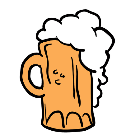 thirsty: beer cartoon
