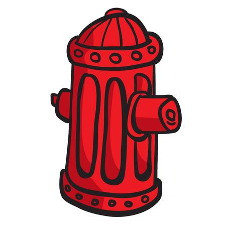 fire hydrant: fire hydrant cartoon doodle