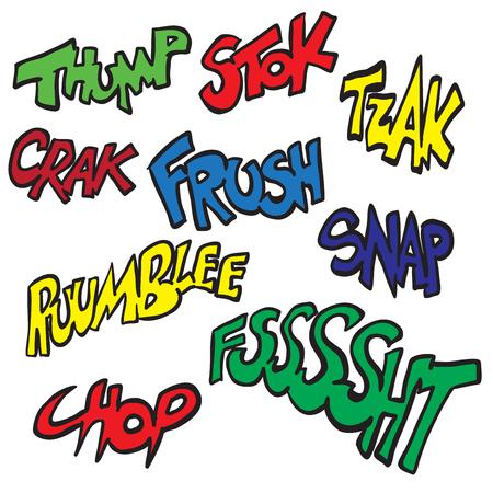 sounds: comic sounds set