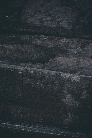 Black resin wall texture with scratches and cracks.