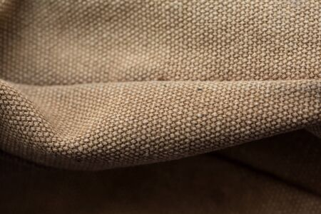 Khaki fabric for different fashion clothes Stock Photo