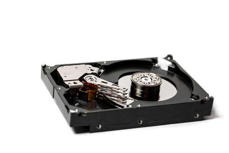Computer hard drive for storing large amounts of information