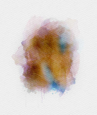 Textured grungy background with scuff marks and strokes. Watercolor abstract illustration.