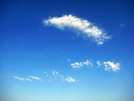 eventide: clouds in the sky