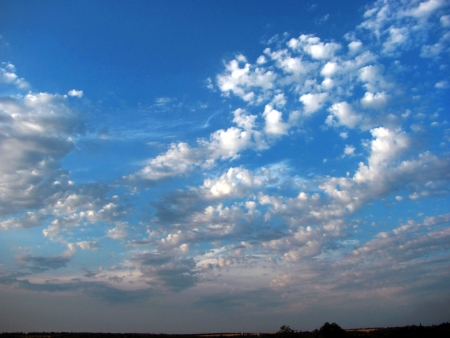 eventide: sky and clouds