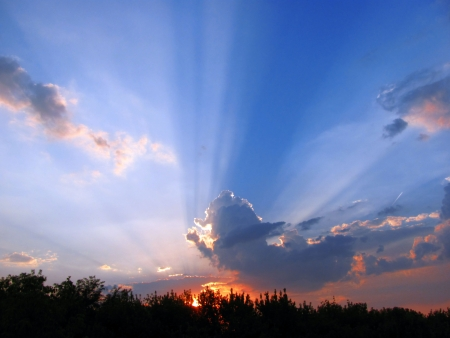 eventide: rays of the sun