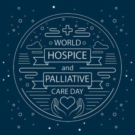 World Hospice and Palliative Care Day . Line style