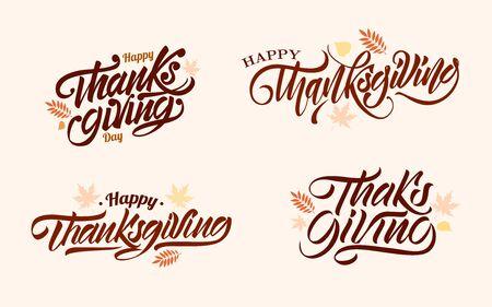 Thanksgiving day. Vector illustration design.