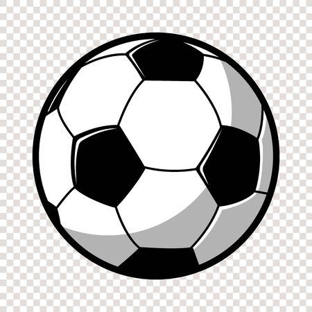 Soccer or Football ball isolated