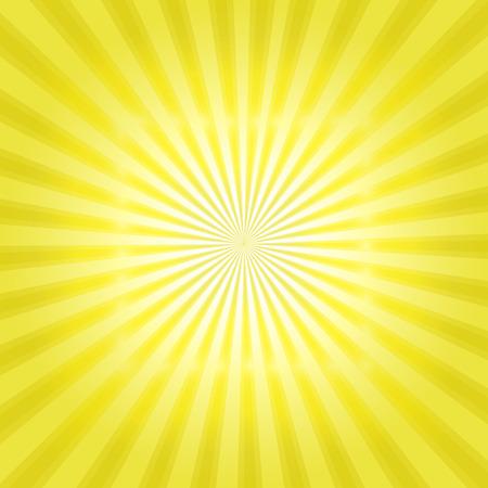 Sun modèle sunburst. Vector illustration