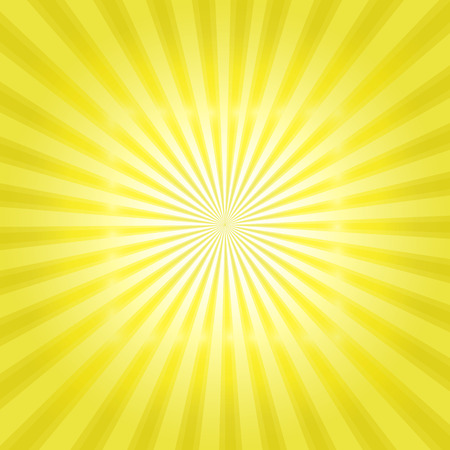 słońce: Wzór Sunburst pn. Ilustracja wektorowa