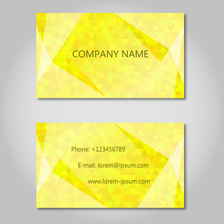 abstract business: yellow Modern Abstract Business