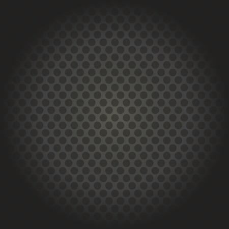 vector abstract dotted metal background design Illustration