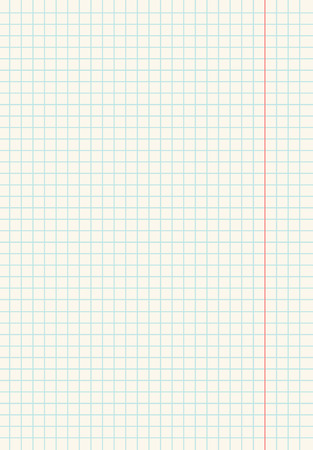 a piece of paper into small squares