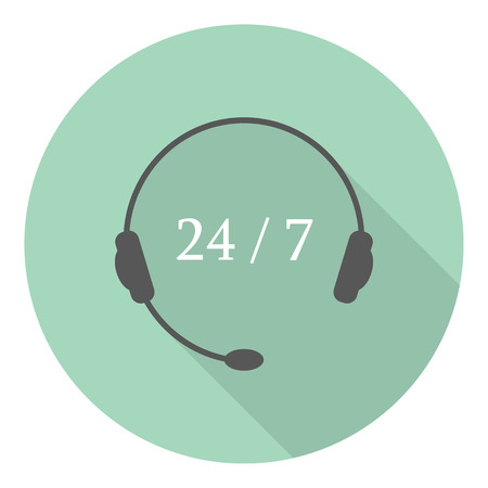 support phone operator in headset: Feedback on the phone with the support of the network around the clock