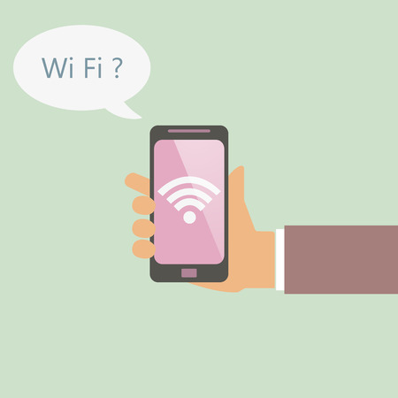 wireless communication: phone in search of wireless communication