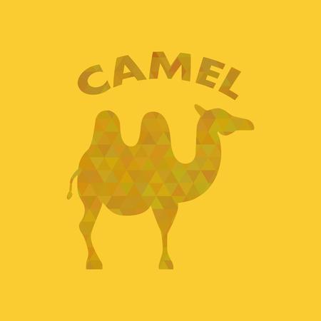 geometric crystal camel