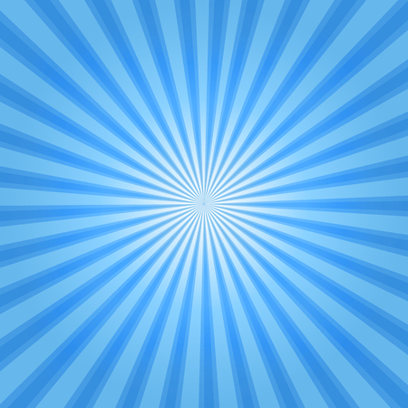 sun burst: Rays background blue