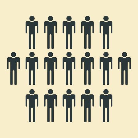 sociedade: Ícone dos povos - População, equipe, Grupo, Multidão, Sociedade, Comunidade etc.