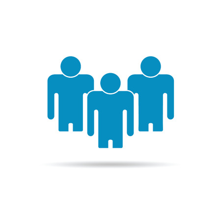 bussiness man: Illustration of Flat Group of People