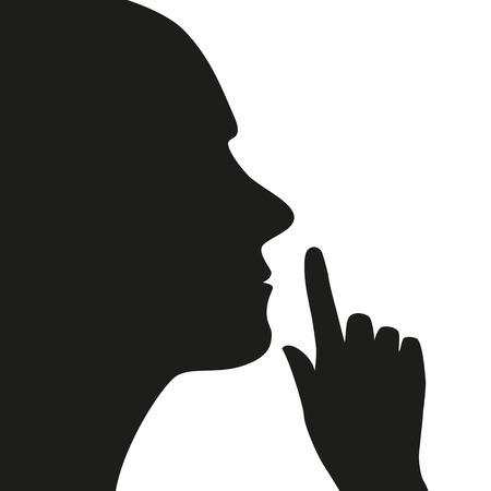 silence icon Vettoriali