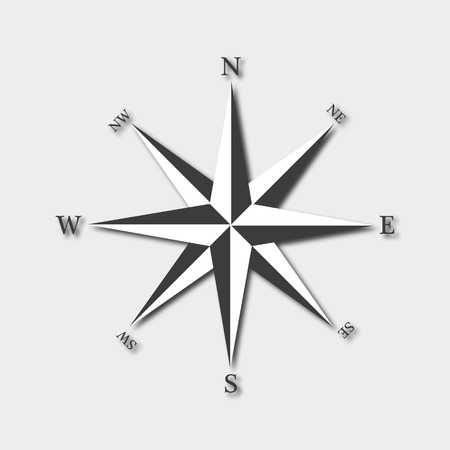 compass rose: Compass. Rose of Wind