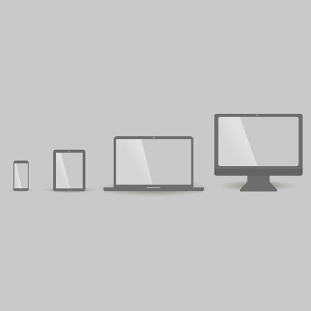 electronic devices: Set of electronic devices icon