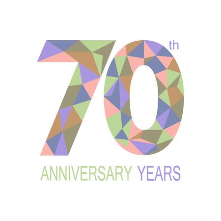 70: 70 anniversary.